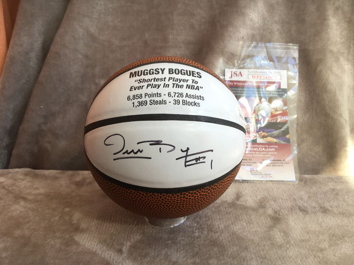NBA Basketbal - Muggsy Bogues  - Mini Basketball