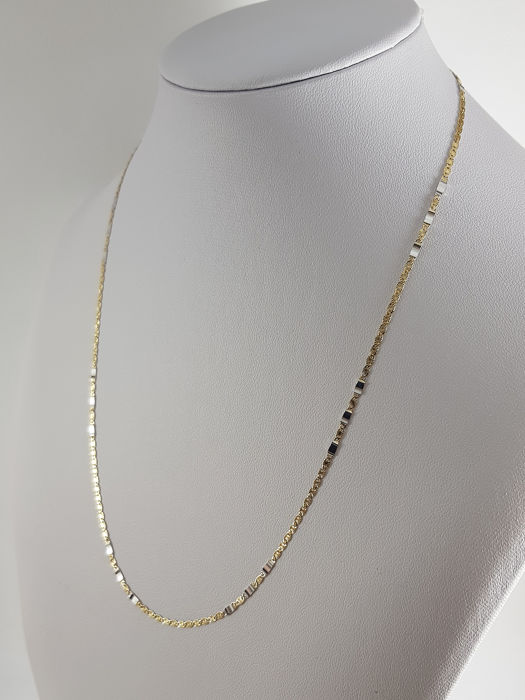Marzi - 18 carats Or blanc, Or jaune - Collier