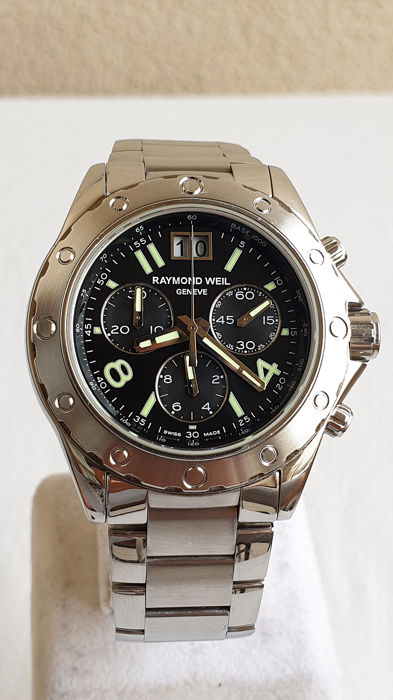 Raymond Weil - Geneve - Chronograph 'NO RESERVE PRICE' - Reference 8550 - Heren - 2018 - Present