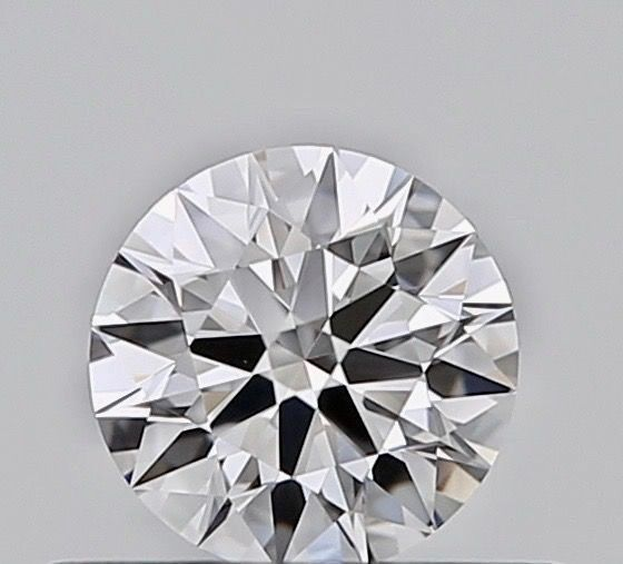 1 pcs Diamante - 0.25 ct - Brillante - E - VVS2