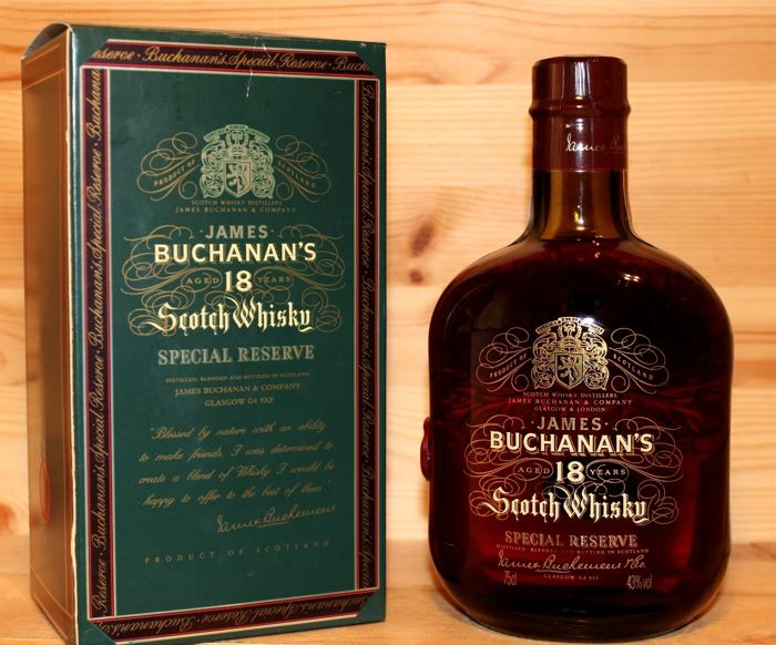 Buchanan 18 years old Special Reserve - 75 cl