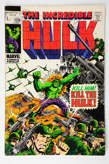Incredible Hulk (Vol.1, 1962) #120/129, | x10 Issue | - (i-AMF Top Collection) - Eerste druk
