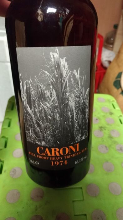 Caroni 1974 34 years old Velier - Full Proof Heavy Trinidad Rum - b. 2008 - 70cl