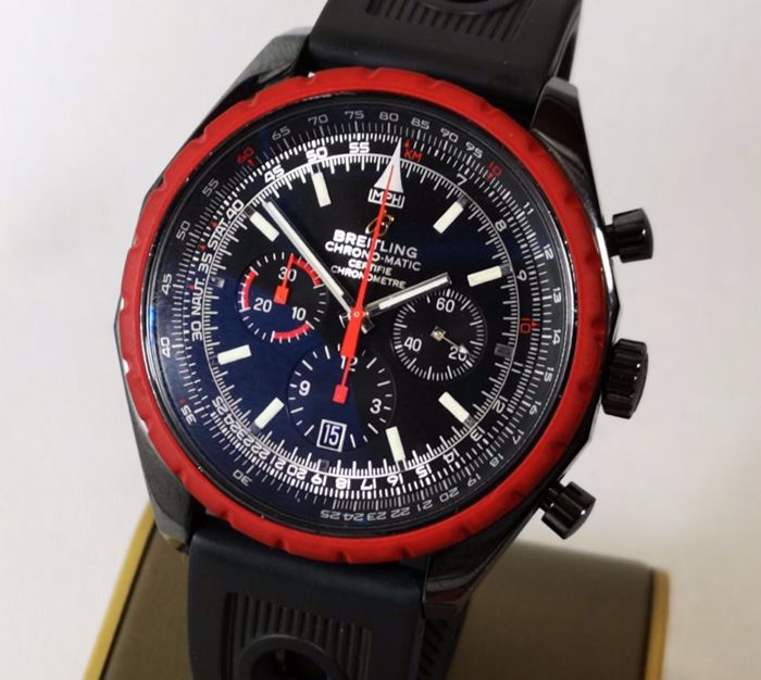 Breitling - Chrono Matic Certified Chronometer Chronograph Limited Edition  225 / 2000 49mm  -NO RESERVE PRICE- - REF. M14360 - Heren - 2011