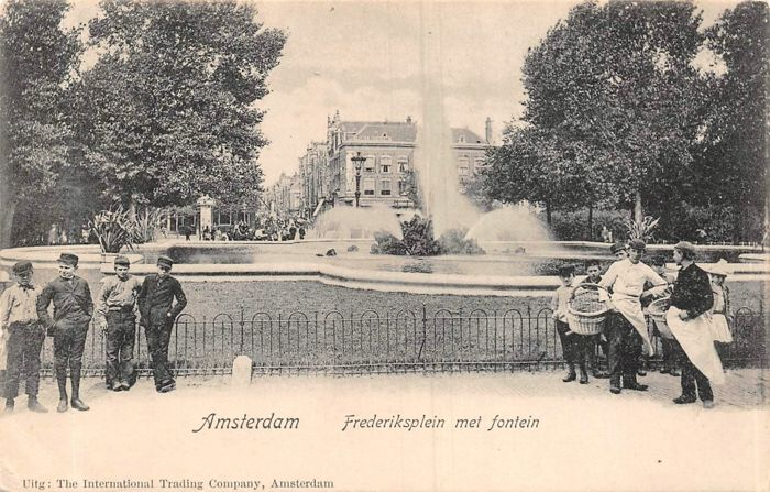 Amsterdam - varied lot - Postcards (100) - 1904