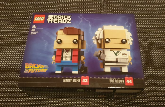 LEGO - Back to the Future - 41611 - Figure Brick Headz - Italy