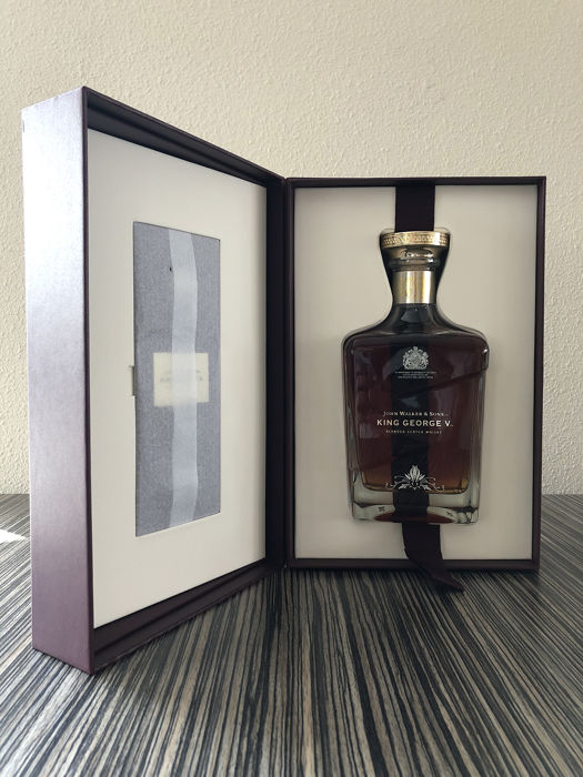 Johnnie Walker King George V - 80th Anniversary of the Royal Warrant - 700 ml