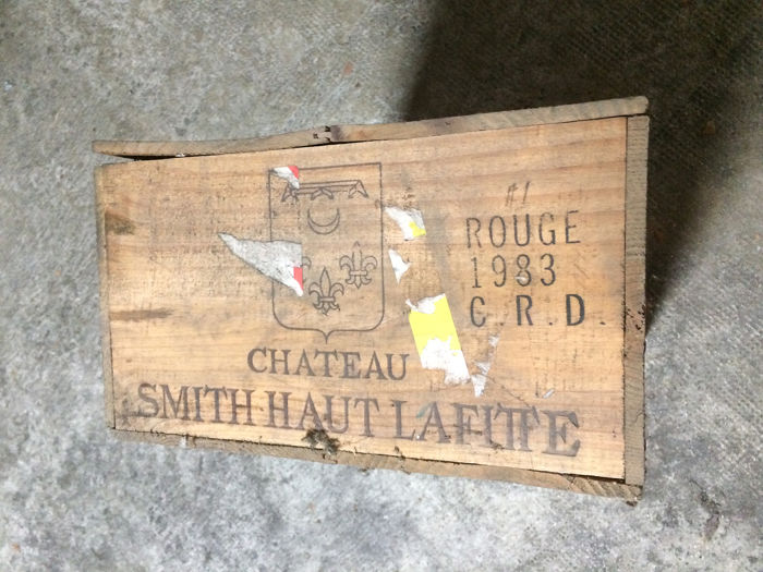 1983 Chateau Smith Haut Lafitte - Graves, Pessac-Léognan Grand Cru Classé - 12 Bottles (0.75L)