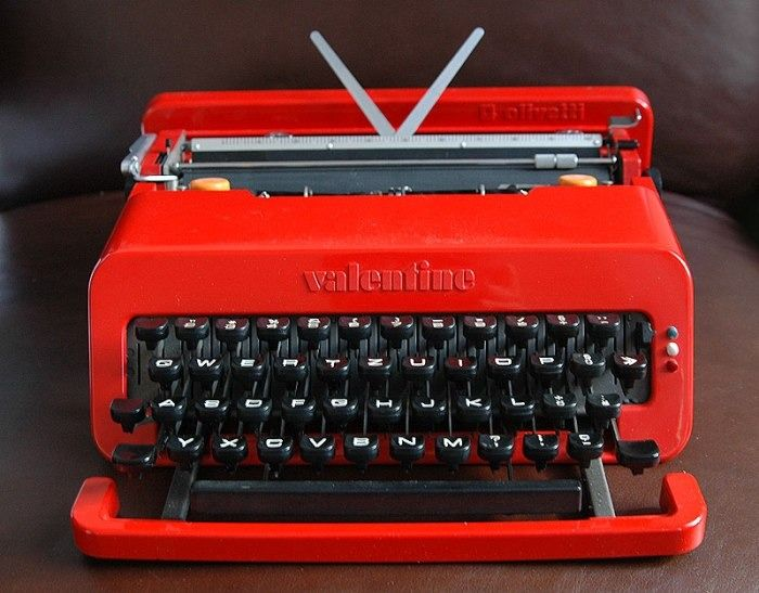 Olivetti by Ettore Sottsass e Perry A. King - Machine à écrire