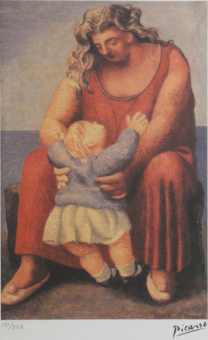 Pablo Picasso (after) - Mother and Child