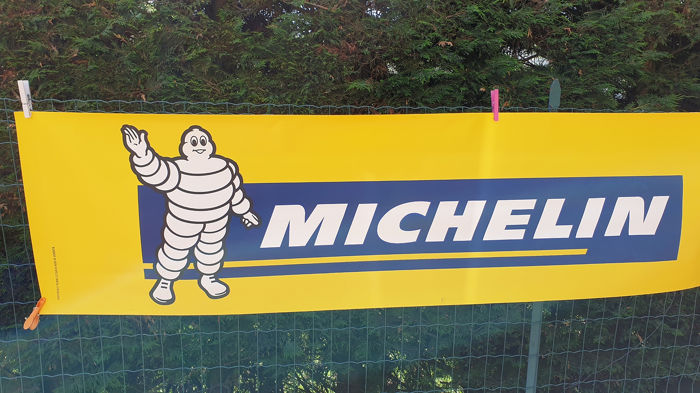 Decoratief object - Michelin - Striscione - 80-90