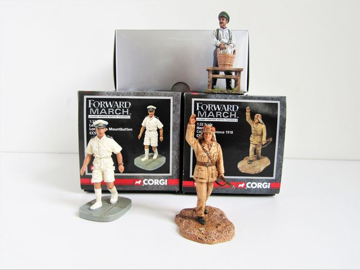 Thomas Gunn Miniatures en Corgi - Limited Editions - Figures 1st world war o.a. Lawrence of Arabia - 2000-Present - U.K.