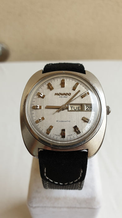 Movado - Kingmatic HS 360 - Automatic - Day/Date 'NO RESERVE PRICE' - Reference 690906 - Uomo - 1970-1979