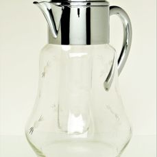Art Deco- Ära - Mussbach - Decanter with cooling insert * Carafe with cooling insert