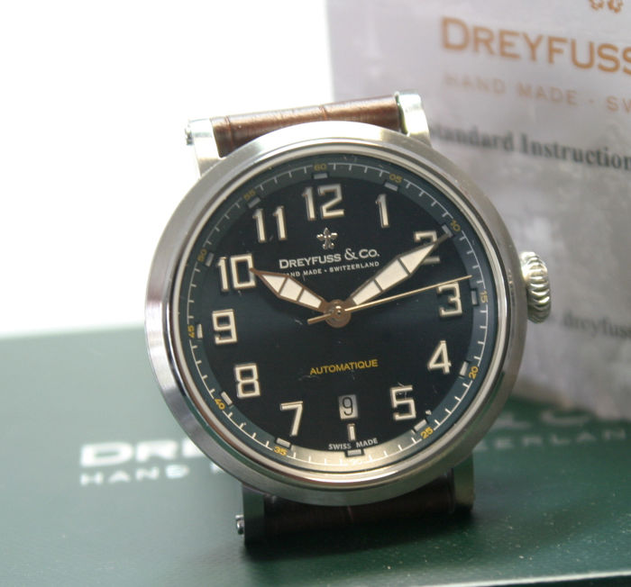 "Dreyfuss & Co. - Serie 1924 Automatic limitiert Swiss Made ungetragen ""NO RESERVE PRICE"" - DGS00153/19 - Men - 2011-present"