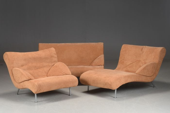 Ligne Roset - Design sofa: 2-seater, chaise longue with armchair - Catawiki