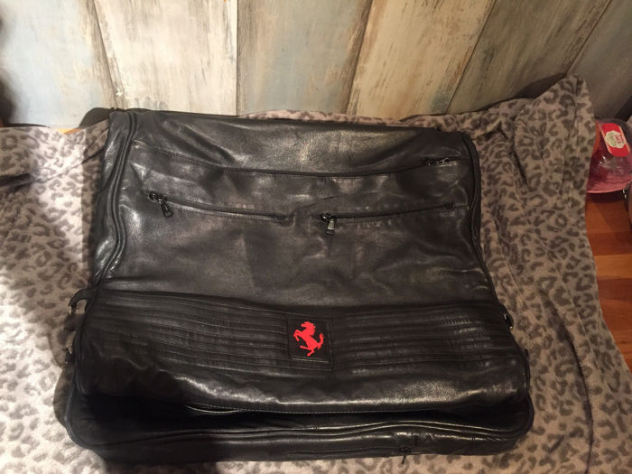 SEEGER Koffer Luggage Suitcase Kleidersack Tasche Bag - Seeger - Ferrari Seeger suitcase briefcase Luggage leather 250 288 GTO F50 F40 - 1980-2000