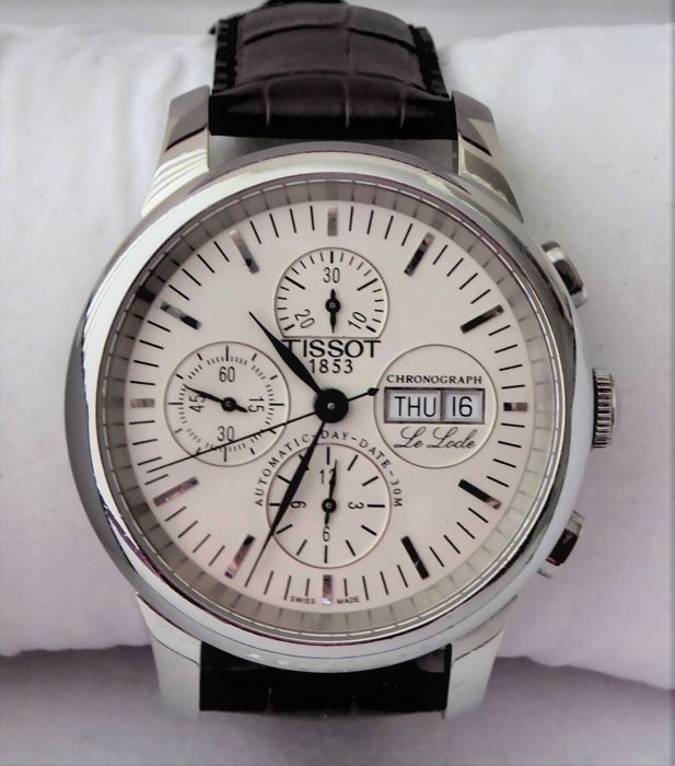 Tissot - Le Locle Automatic Chrono Valjoux 7750 - Heren - 2000-2010
