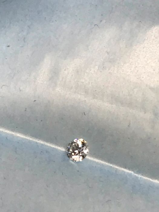1 pcs Diamond - 0.30 ct - Brilliant - G - IF (flawless)