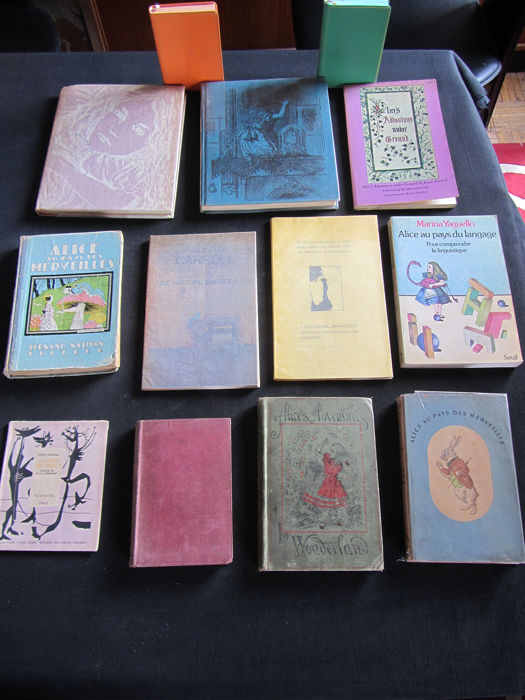 Lewis Carroll - Alice. Lot with 13 books - 1939/1979