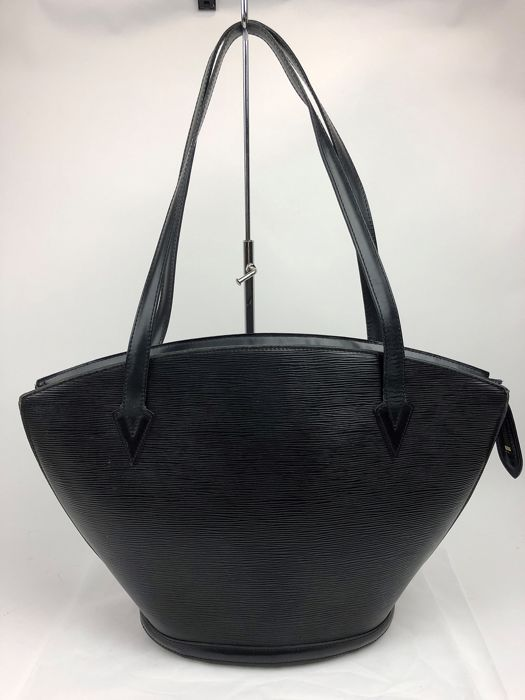 Louis Vuitton - Saint-Jacques Black Epi Shoulder bag