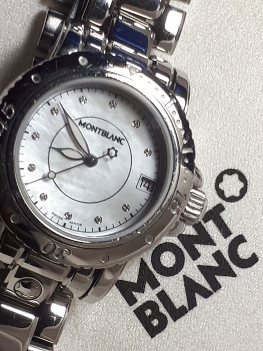 Montblanc - Sport (Mother of pearl and Diamonds) - Ref. 103262 - Unisex - 2000 - 2010
