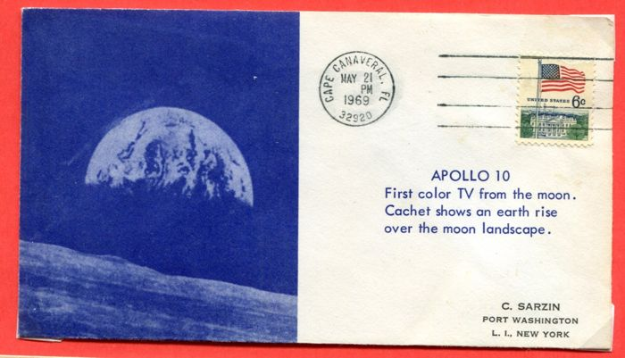 United States of America - 84 FDCs Space theme - Catawiki