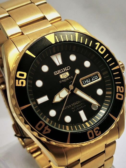 """Seiko - Automatic 23 Jewels """"Gold Diver"""" - Made In Japan - Heren - 2019"""