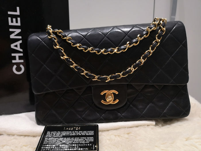 Chanel - Timeless Quilted Double Flap Schoudertas