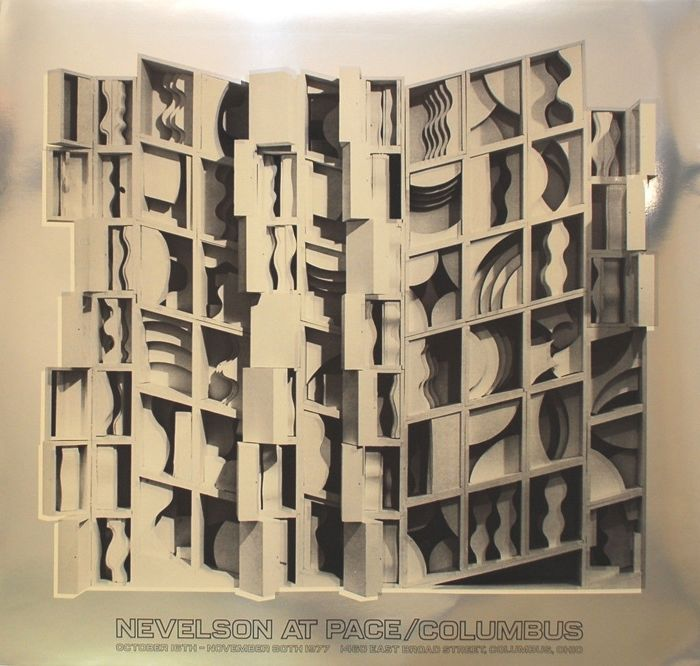 Louise Nevelson - 2x Pace-Columbus - 1977