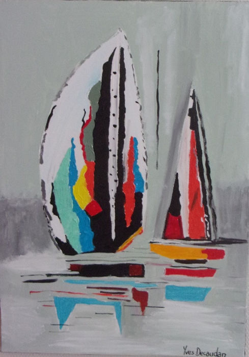 Yves Decaudan - Sailing boats