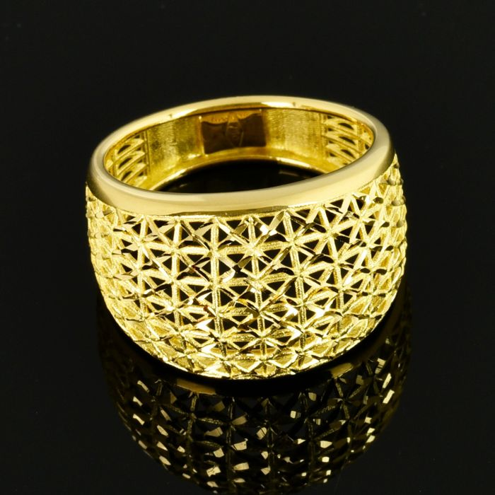 18 carats Or jaune - Bague
