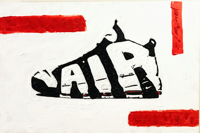 Sidney Perrier - Sneakers of my life nº4 - Air More Uptempo A side