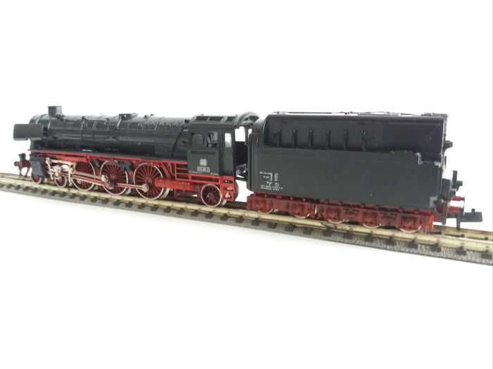 Fleischmann N - 7171 - Steam locomotive with tender - BR012 - DB