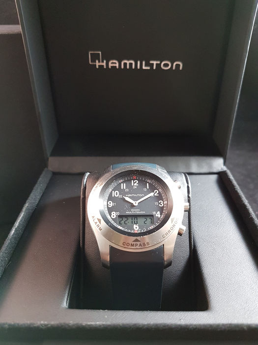 Hamilton - Khaki Field Multitouch - H915241 - NO RESERVE PRICE - Men - 2000-2010