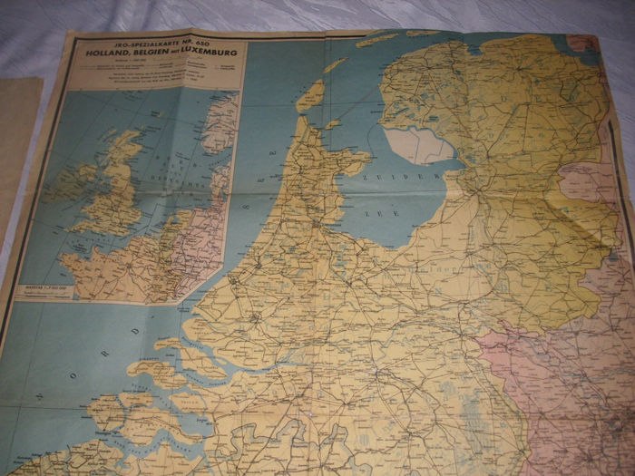 Map Of France Holland And Germany.Germany 3 Rich 2 X Maps Western Border France Holland Belgium