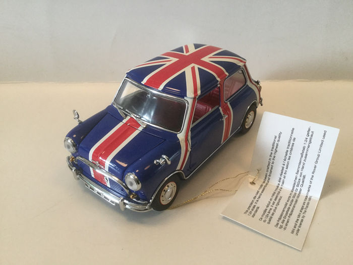 Schaal 1:24  - Franklin Mint, Morris Mini Cooper  - Miniature (1) - Abstract - Zamac