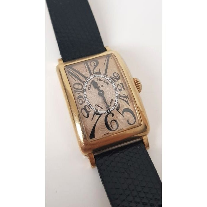 "Franck Muller - Long Island - ""NO RESERVE PRICE"" - 900 QZ - Women - 1980-1989"