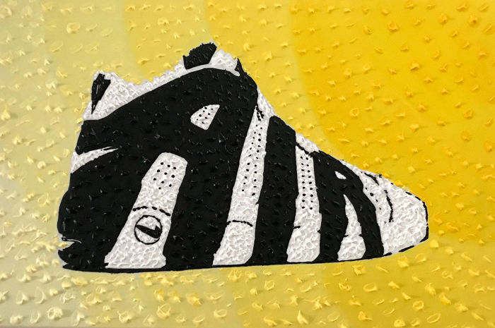 Sidney Perrier - Sneakers of my life nº5 - Air More Uptempo B side