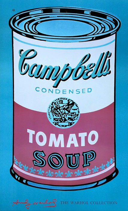 Andy Warhol - Campbell's Soup Can (Tomato) - 2003
