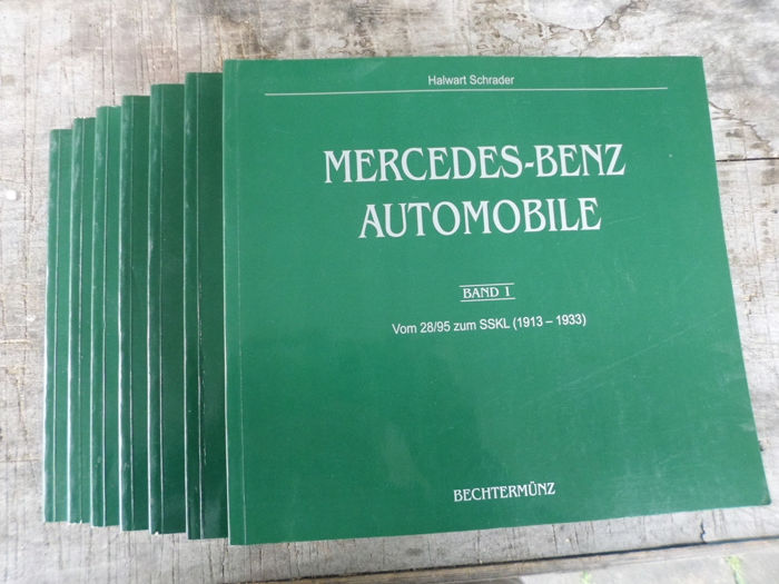 7 Books - Mercedes-Benz - 1913-1998