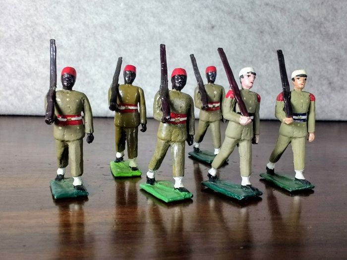 Fusilier Miniatures England - French empire - One original box French senegal tirailleurs - 1970-1979
