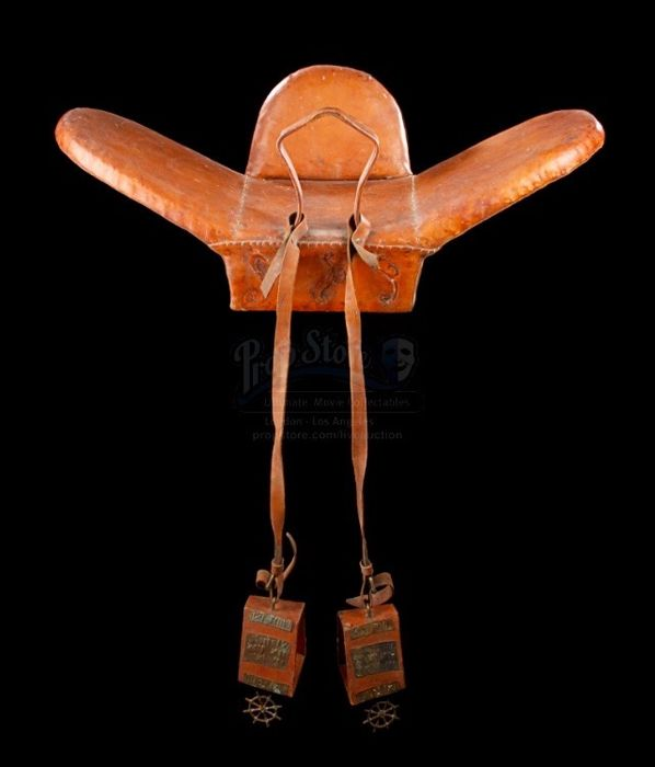 The Adventures of Baron Munchausen (1988) - Terry Gilliam  - Saddle used by actor Robin Williams in the movie - with Coa
