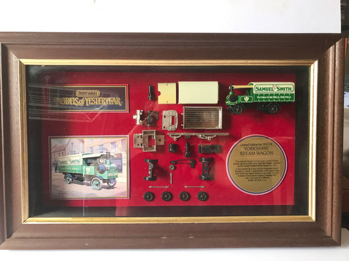 Matchbox - 1:55 - Yorkshire Steam Wagon - Limited edition frame