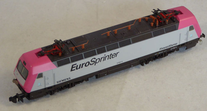Arnold N - 2435 - Electric locomotive - BR127, Eurosprinter Siemens - DB