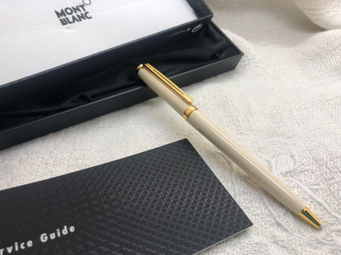Montblanc - Stylo bille Noblesse Oblige Precious Ivory Resin