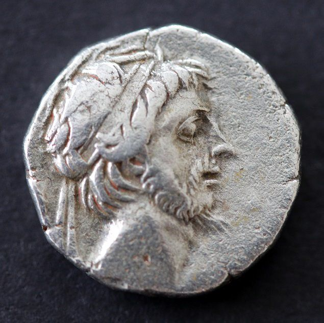 Greece (ancient) - Kings of Cappadocia, Drachm, Mint A (Eusebeia under Mt.Argaios). Ariobarzanes III Eusebes Philoromaios 52-42 BC - Silver