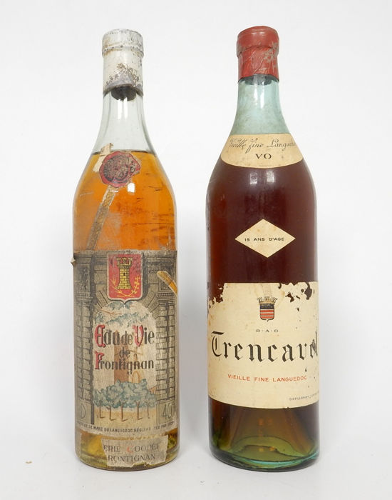 Trencavel, Frontignan 15 years old - b. 1930s - 70cl, 75cl - 2 bottles