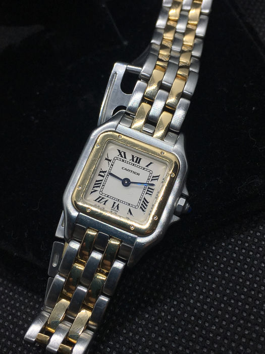Cartier - Panthere 18k Gold/Steel Low Reserve Price - 1120 - Dames - 2000-2010