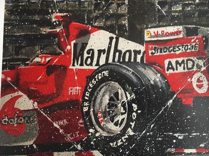 Ferrari - Formula One - Michael Schumacher - 2019 - Artwork